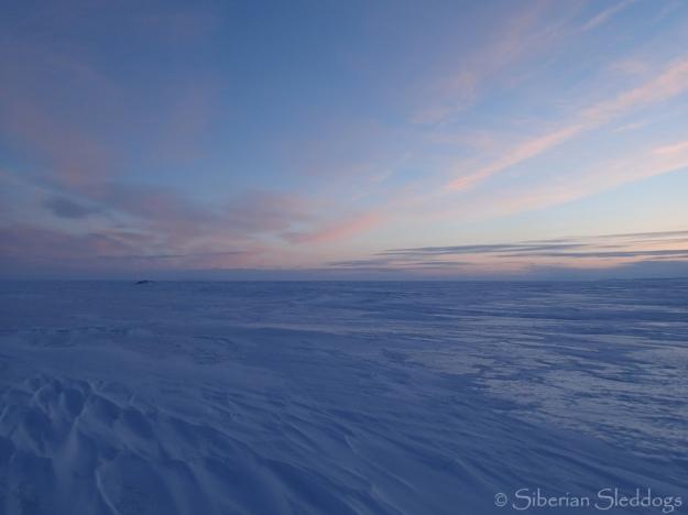 Sunset on Norton Sound